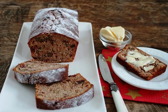 Dadelwalnoten cake