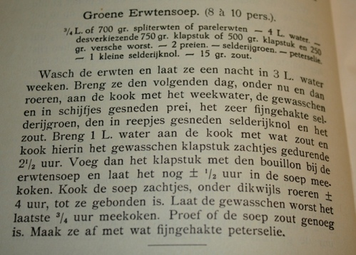 Groene erwtensoep Het nieuwe kookboek