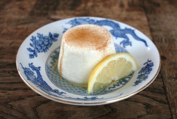 yoghurt panna cotta