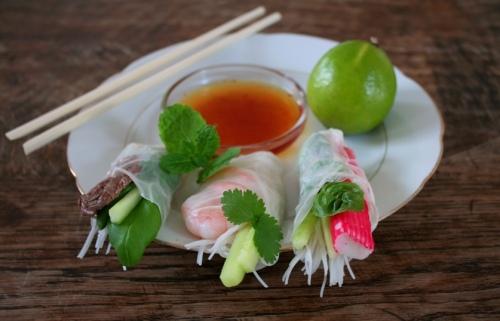 Vietnamese Fresh Springrolls