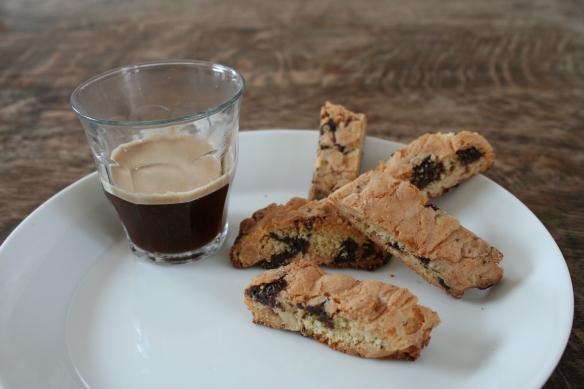 koffie met cantuccini's origineel