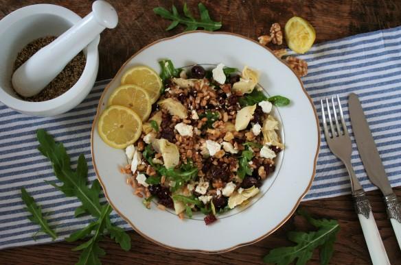 Farro salade