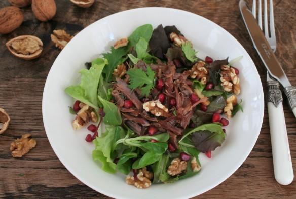 salade met confit de canard